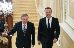 Кобяков и Медведев