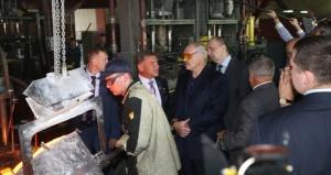 """Президент Лукашенко на заводе """"Технолит"""""""