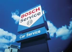 Билборд компании Бош