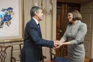 Тихановская встретилась с госсекретарем США Энтони Блинкеном. О чем говорили?