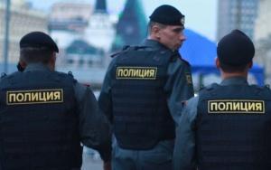 российские полицейские
