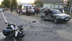В Орше насмерть разбился мотоциклист