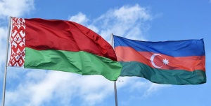 флаги Беларуси и Азербайджана