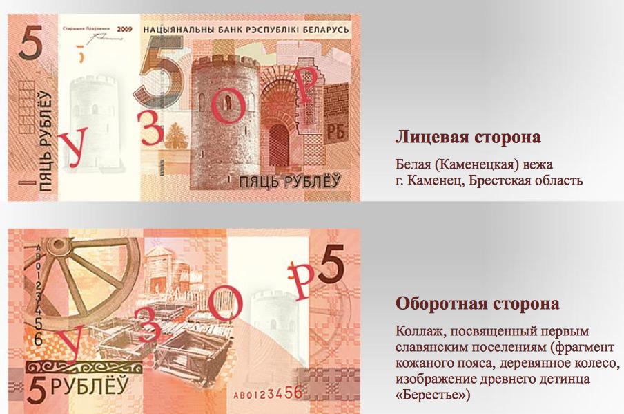 Описание денег 10 рублей боровск